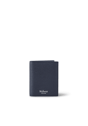 Mulberry Men's Trifold Wallet - Midnight