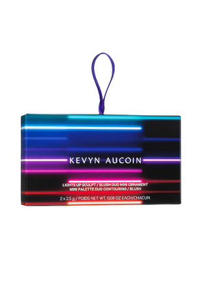 Kevyn Aucoin Lights Up Contour & Blush Mini Ornament in Beauty: NA.