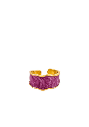 petit moments Faded Ring in Purple.