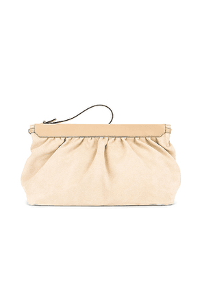 Isabel Marant Luz Pouch in Beige.