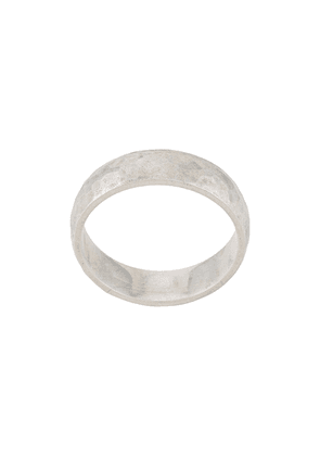 Bunney hammered finish ring - Silver