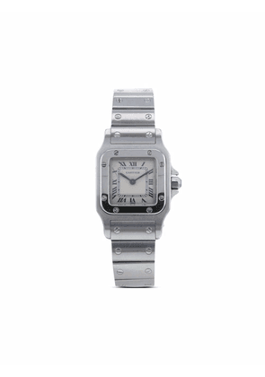 Cartier 1990s pre-owned Santos 35mm - White