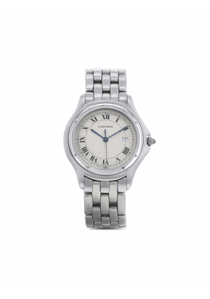 Cartier 1990s pre-owned Cougar 33mm - White