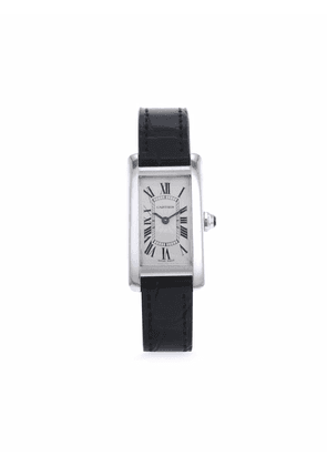 Cartier 1990s pre-owned Tank Américaine 19mm - Silver