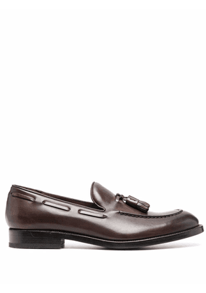 Fratelli Rossetti tassel-detail leather loafers - Brown