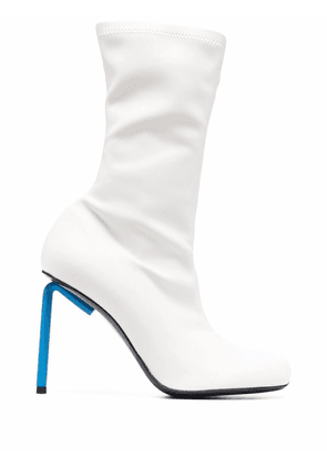 Off-White Allen square-toe ankle boots