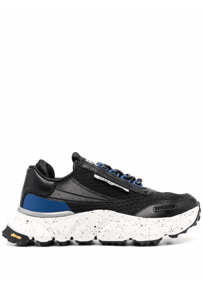 Fila lace-up low-top sneakers - Black