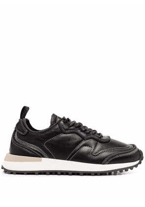 Buttero Futura low-top leather sneakers - Black