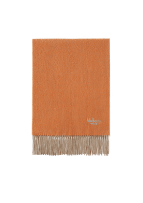 Mulberry Cashmere Blend Ombre Scarf - Cloud-Apricot