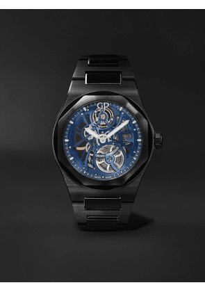 Girard-Perregaux - Laureato Earth To Sky Automatic Skeleton 42mm Ceramic Watch, Ref. No. 81015-32-432-32A - Men - Blue - one size