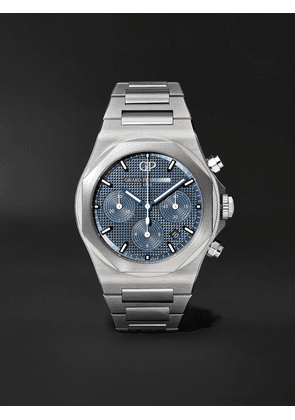 Girard-Perregaux - Laureato Chronograph Automatic 42mm Stainless Steel Watch, Ref. No. 81020-11-431-11A - Men - Blue - one size