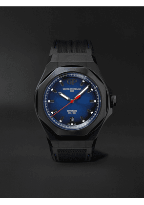 Girard-Perregaux - Laureato Absolute Automatic 44mm Titanium and Rubber Watch, Ref. No. 81070-21-491-FH6A - Men - Blue - one size