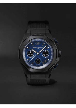 Girard-Perregaux - Laureato Absolute Automatic Chronograph 44mm Titanium and Rubber Watch, Ref. No. 81060-21-491-FH6A - Men - Blue - one size