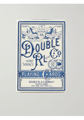 RRL - Playing Cards - Men - Neutrals