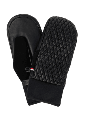Athena leather mittens
