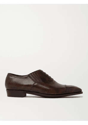 George Cleverley - Bodie II Bourbon Leather Oxford Shoes - Men - Brown - UK 7
