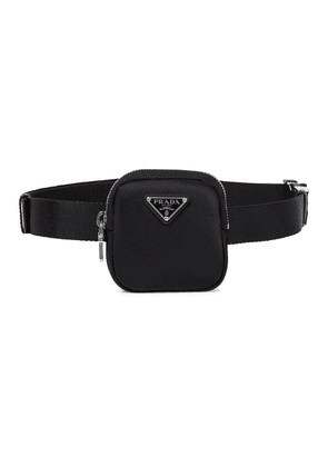 Nylon and canvas pouch belt