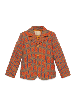 Children's cotton jacket with G square