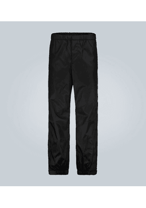 Technical sweatpants with logo