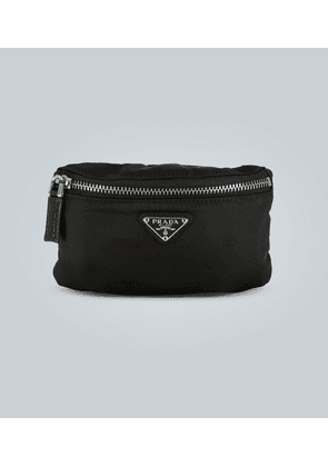 Technical fabric wrist pouch