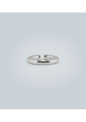 Almost sterling silver open ring