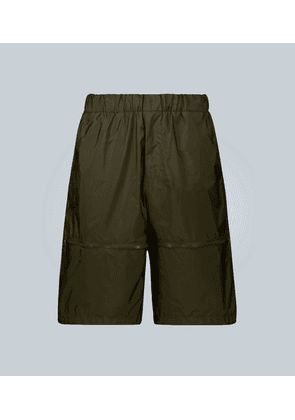 Exclusive to Mytheresa – wide-leg technical shorts