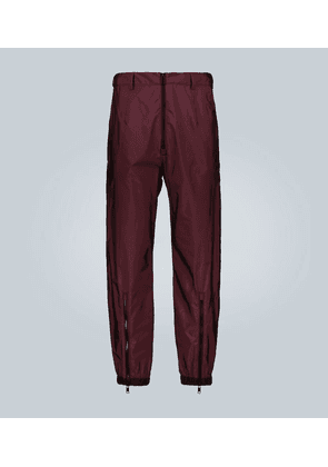 Exclusive to Mytheresa – technical pants with contrast zips