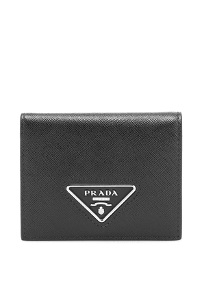 Saffiano-leather wallet