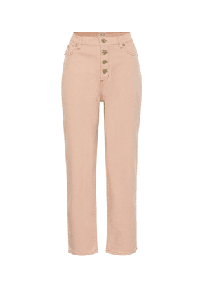 Nancy high-rise straight jeans