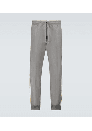 Sweatpants with GG piping