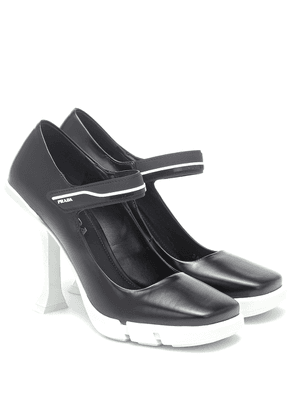 Mary Jane 105 leather pumps