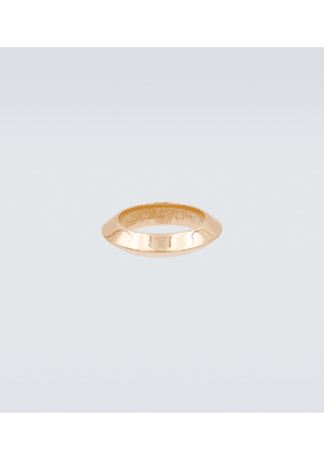 Gold-plated sterling silver ring