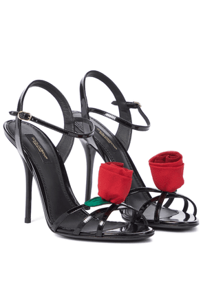Keira patent leather sandals