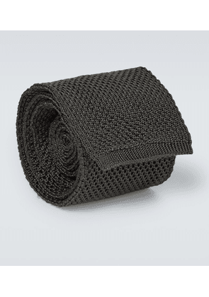Exclusive to Mytheresa – knitted silk tie
