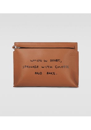 T Words pouch