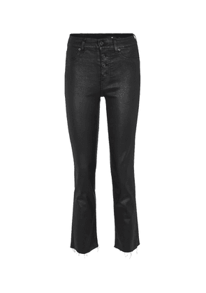 The Straight Crop high-rise jeans