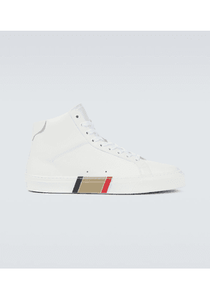 Rangleton high-top leather sneakers