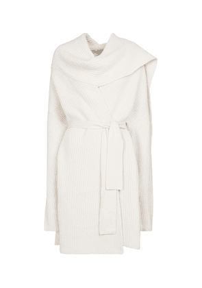 Battersea wool and cashmere longline cardigan