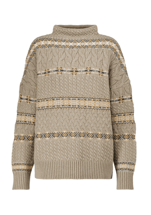 Jac cable-knit wool sweater