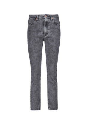 Channel Seam high-rise skinny jeans