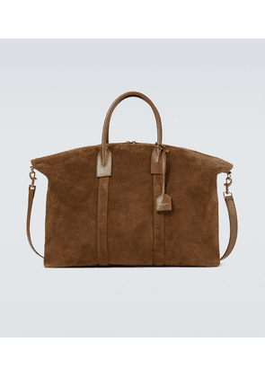 Giant leather tote bag