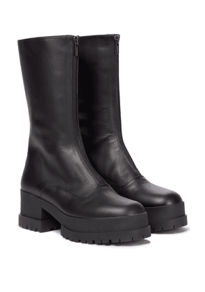 Wallies leather boots
