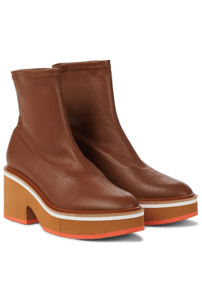 Albane leather ankle boots