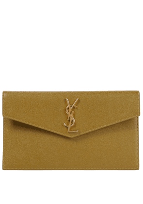 Uptown Small leather clutch