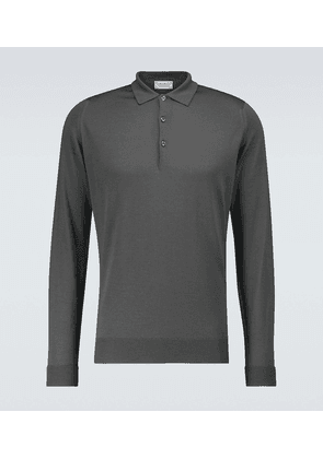 Cotswold long-sleeved polo shirt