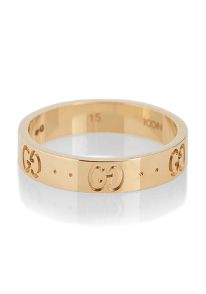 Icon 18kt yellow gold ring