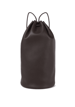 Massimo leather backpack