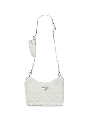 Re-Edition 2000 quilted shearling shoulder bag