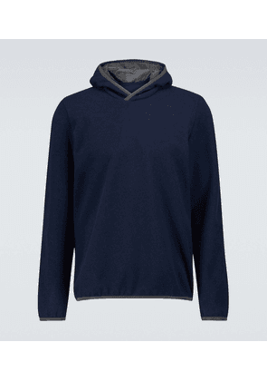 Drone hooded sweater