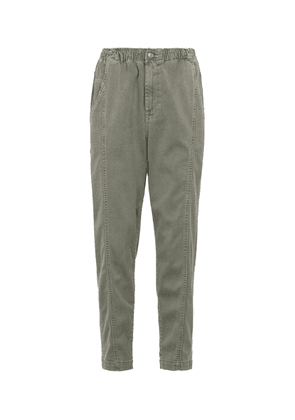 Alexis relaxed stretch denim pants